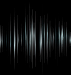 music wave background vector image vector image