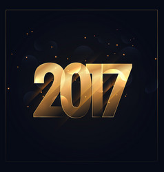 2017 background for new year celebration vector image