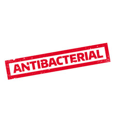 Antibacterial rubber stamp vector