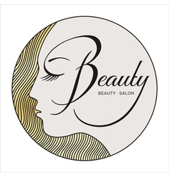 beauty face 2 vector image