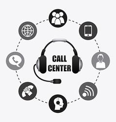 call center vector image