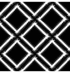 Decorative Grunge White Frame Seamless Pattern vector