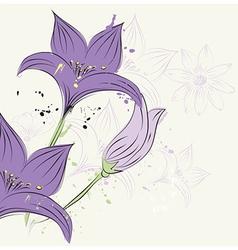 Floral and decorative design elements vector
