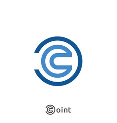 Letter c logo icon abstract alphabet sign design vector