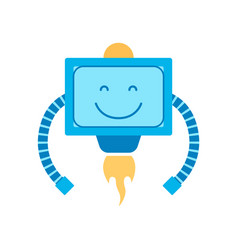 Mechanism with smile squared vector
