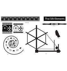 ThaiSilk Elements version 1 vector image