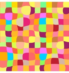 Colorful mosaic twisted background vector image vector image