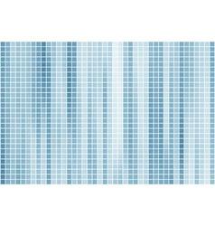 Blue tile background vector image