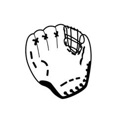Baseball glove icon Sport design graphic vector