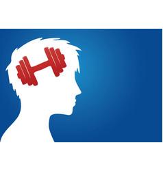 Bodybuilding addiction vector