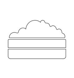 Compost heap icon design vector