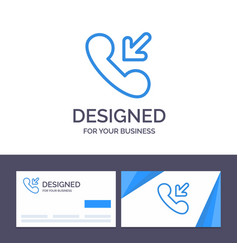 creative business card and logo template answer vector image