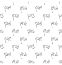 Flag pattern seamless vector