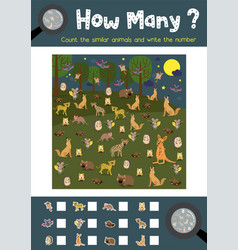 How many nocturnal animal vector