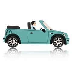 Mini Car vector image