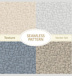 seamless texture of stone in different colors vector image