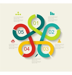 Time Line Design vector image