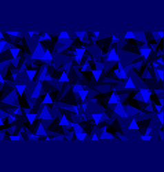 triangle background - blue vector image