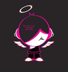 emo god vector image vector image