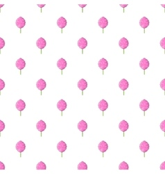 Cotton candy pattern cartoon style vector