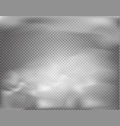 cloud effect on transparent background vector image