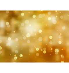 Glittery gold christmas background vector