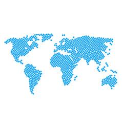 global atlas pattern of pharmacy tablet items vector image