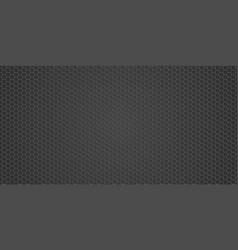 metallic texture - metal grid background black vector image