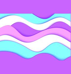 paper art background vector image