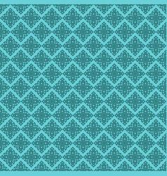 seamless line thai green pattern arts vector image