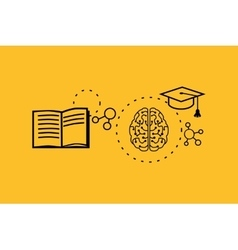 Learning Ability Concept Design vector image
