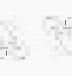 modern white rectangle texture background on left vector image vector image