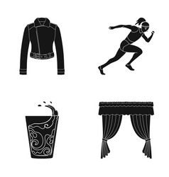 fabric sports textilesand other web icon in vector image vector image