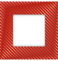 Royal square frame vector image vector image