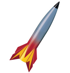 missile isolated 3d vector image vector image