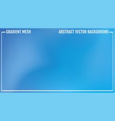 abstract blue background color mesh gradient vector image