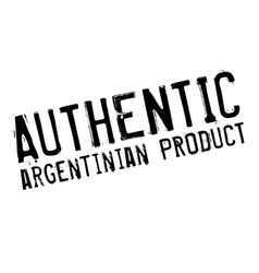 Authentic argentinian product stamp vector image