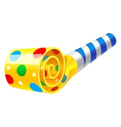 Party Horn Blower vector image
