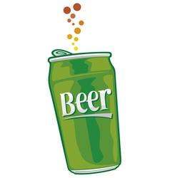 Beer can vector