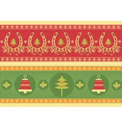 christmas decoration elements for designNew year vector image vector image
