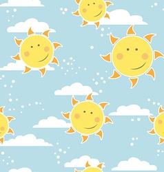 sunpattern vector image