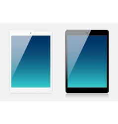 Tablets vector image vector image