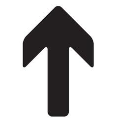 arrow up icon vector image