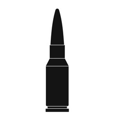 Big bullet icon simple style vector