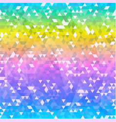 bright triangle seamless texture with vector image