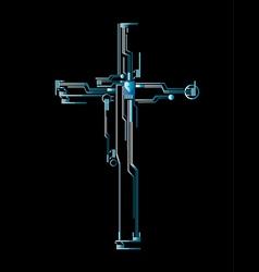 Cross transmission vector