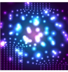 Glowing micro cosmos background Eps10 vector