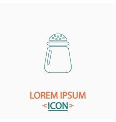 Salt computer symbol vector