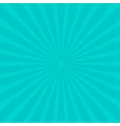 Sunburst with ray of light Blue background vector