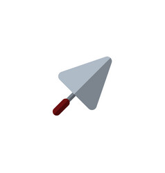 Trowel tool icon vector